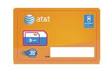 AT&T MicroSIM Card