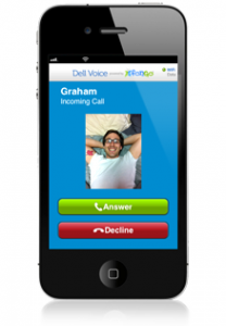 Dell Voice App for iPhone